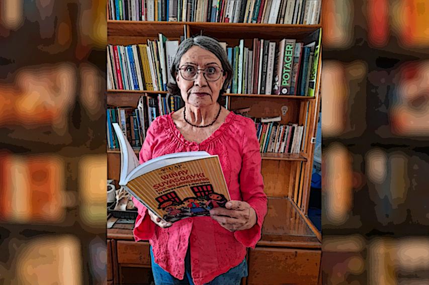 """Gloria Cáceres: """"La traducción es una lengua para mí"""""""